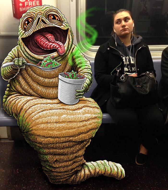 dibujos-monstruos-metro-nueva-york-ben-rubin (15)