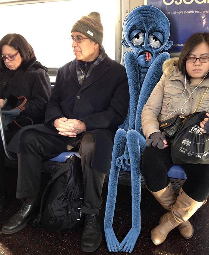 dibujos-monstruos-metro-nueva-york-ben-rubin (2)