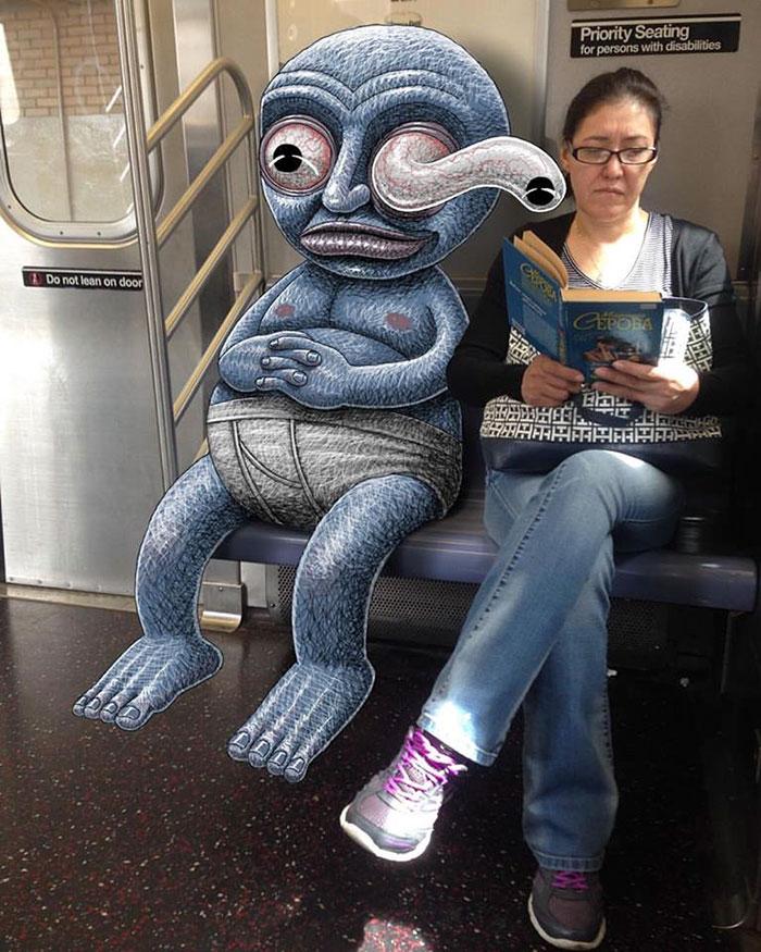 dibujos-monstruos-metro-nueva-york-ben-rubin (5)