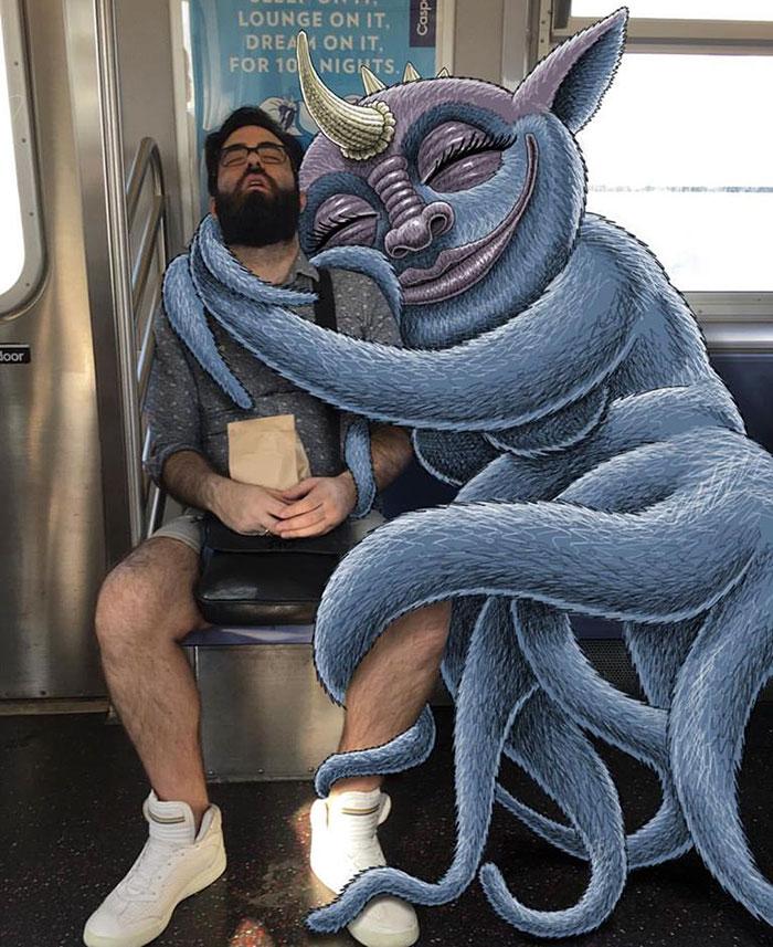 dibujos-monstruos-metro-nueva-york-ben-rubin (6)