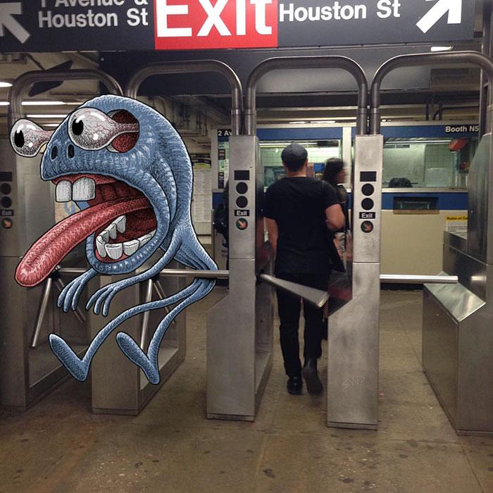 dibujos-monstruos-metro-nueva-york-ben-rubin (7)