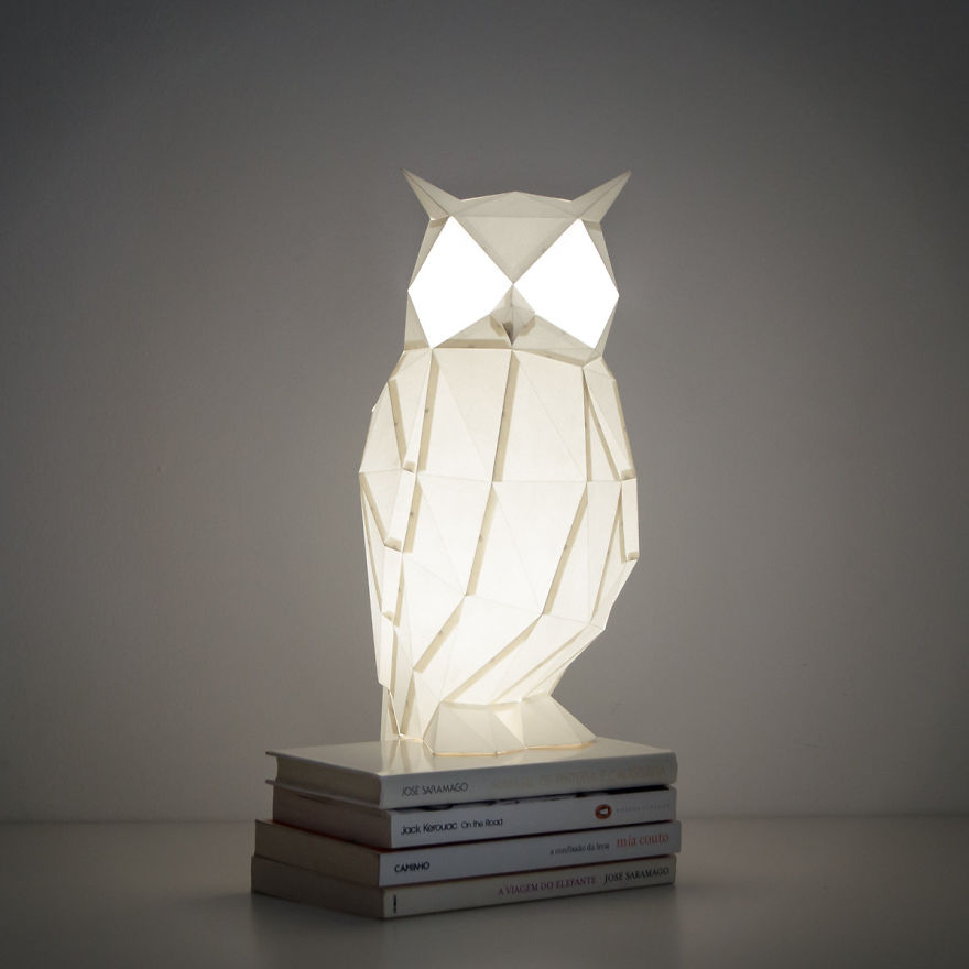 lamparas-papel-origami-animales