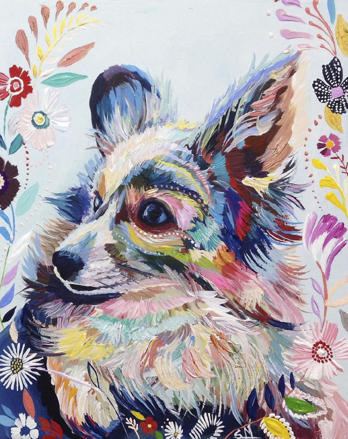 Animal Oil Paintings Pinterest