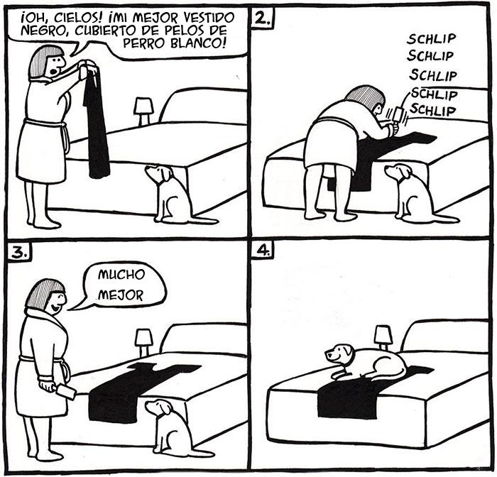 """15 Divertidos cómics sobre la vida con perros, por """"Off The Leash"""""""