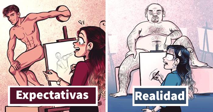 10 Divertidos cómics que describen perfectamente la vida del dibujante