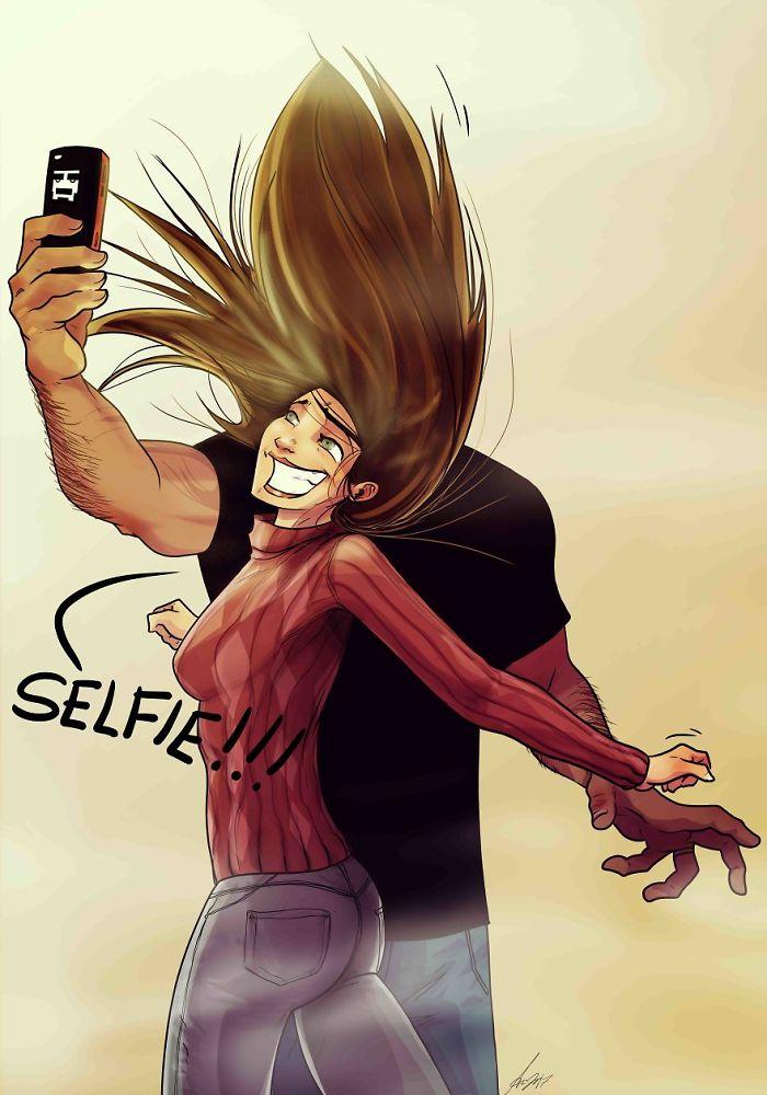 Al Hacernos Selfies