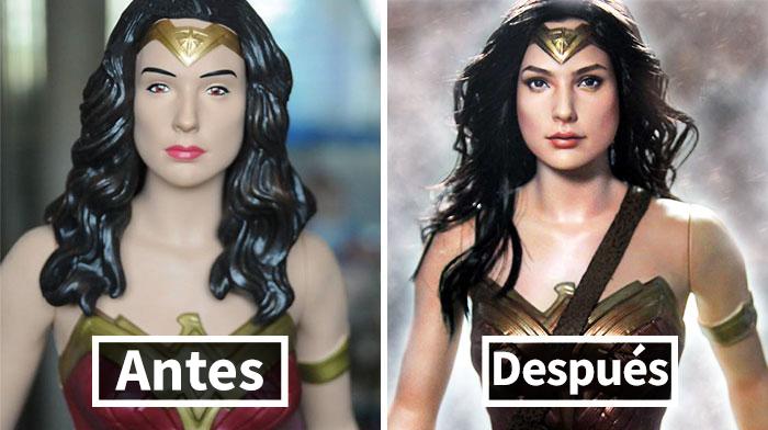 Este artista repinta muñecas producidas en masa para que sean más realistas con resultados impresionantes