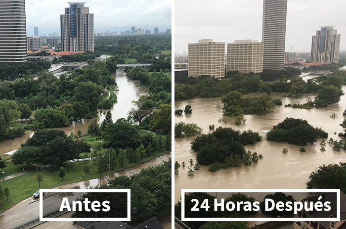 10+ Potentes Fotos Del Huracán Harvey Que Muestran El Devastador Poder De La Naturaleza
