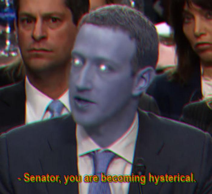 Senador, Se Está Poniendo Histérico