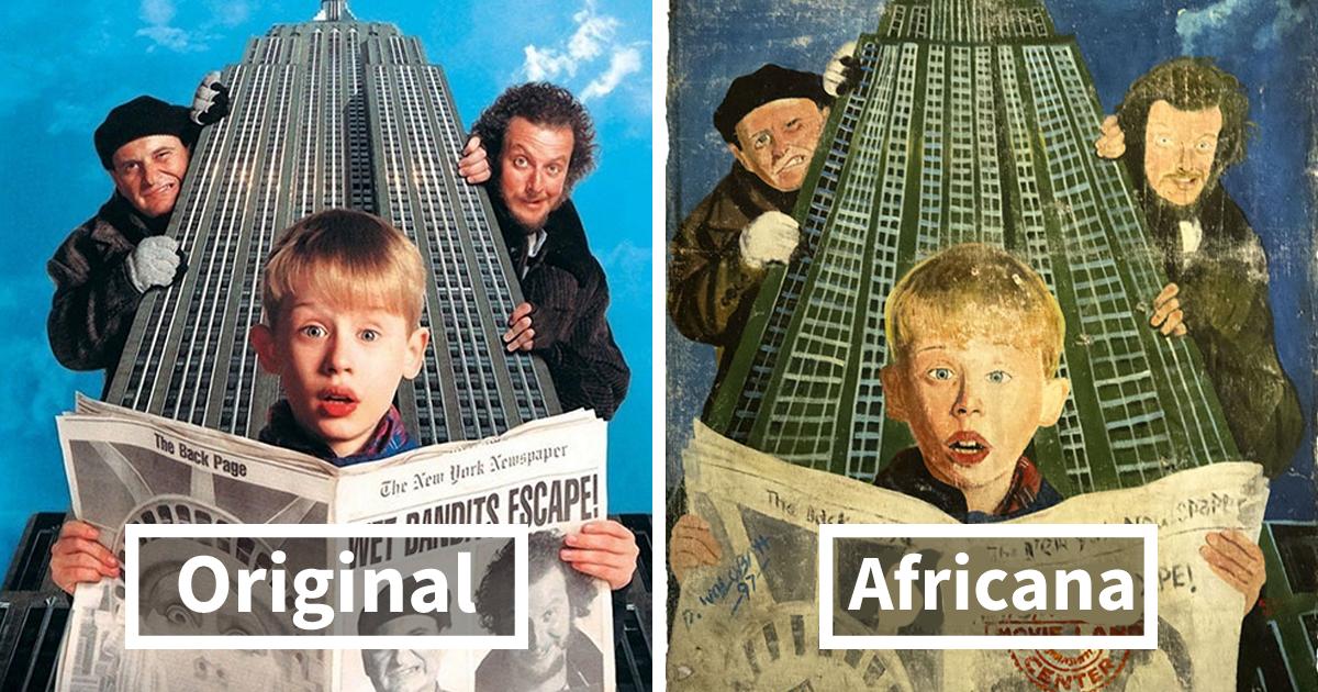 20+ Extravagantes posters de películas hechos en África que son tan malos que triunfan