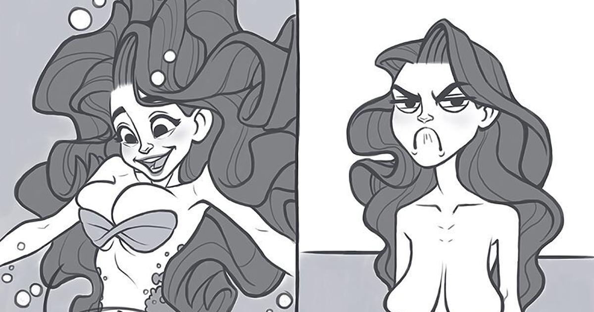 15 Divertidos cómics creados por la dibujante polaca Verauko