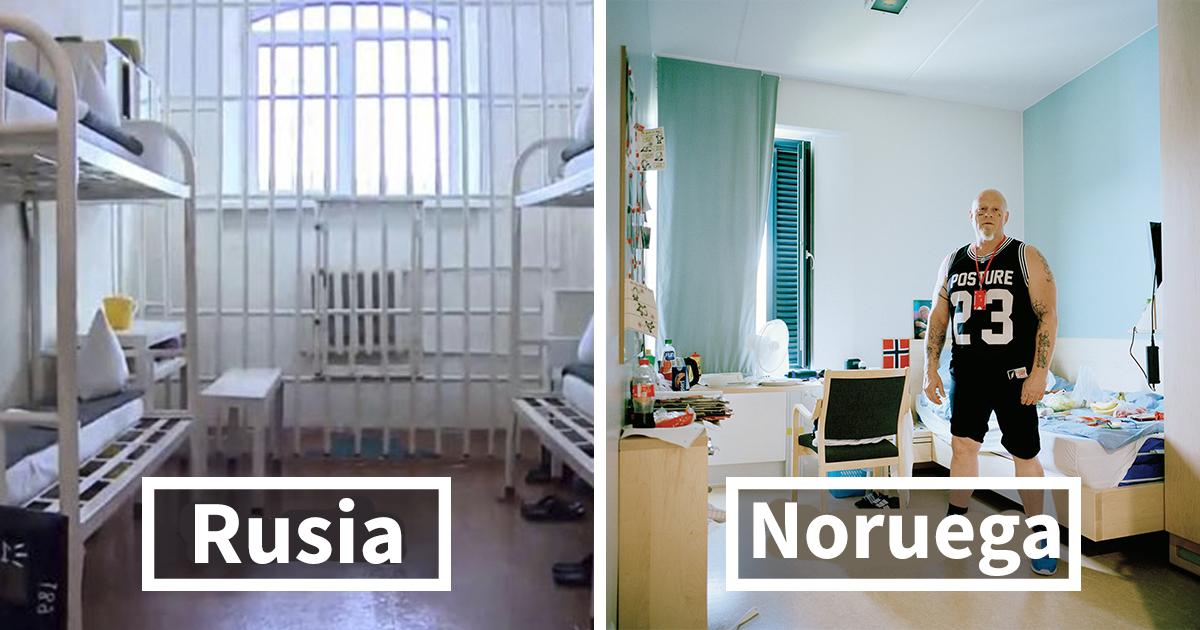 Este es el aspecto de las celdas de las prisiones por todo el mundo