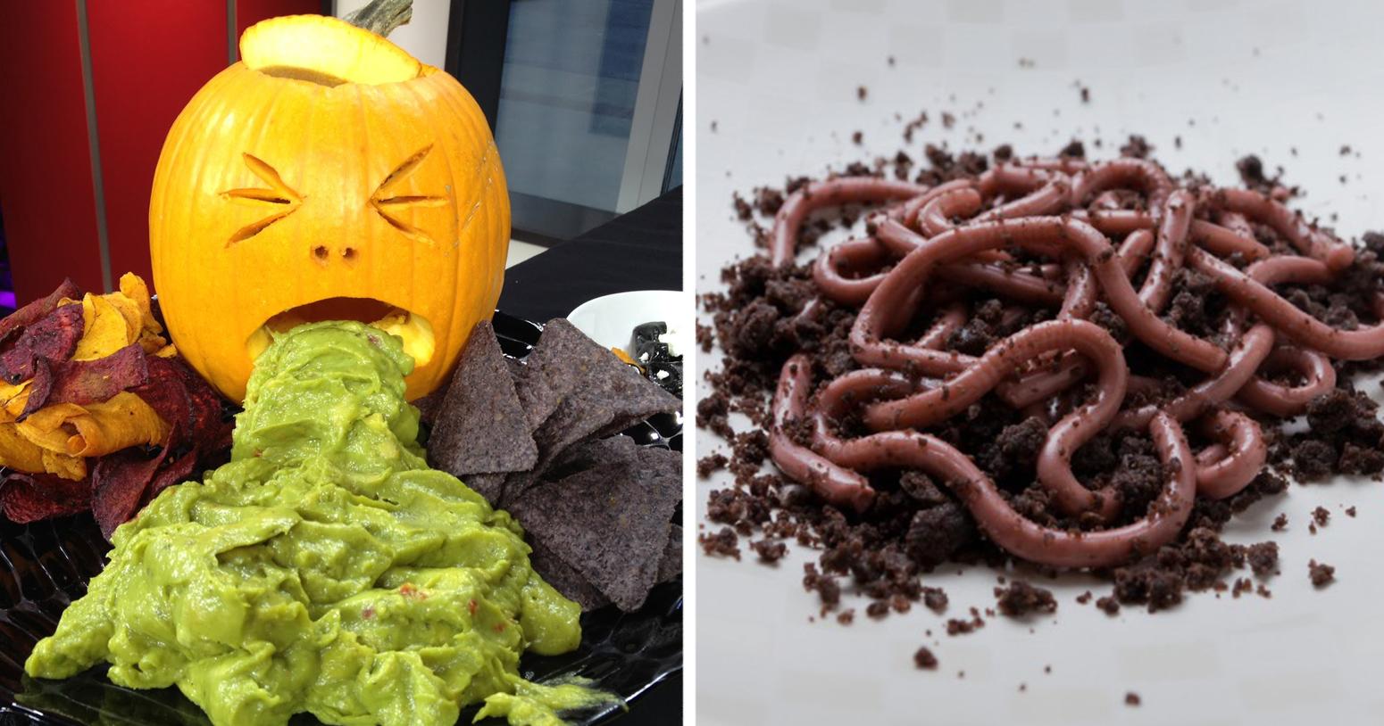 Aperitivos Para Halloween Parecen Asquerosos Pero Saben
