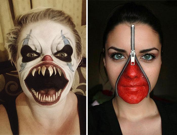 20 Ideas Sobrecogedoras Para Maquillarse En Halloween