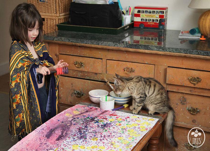 iris-grace-pintora-autista-edad-5-13