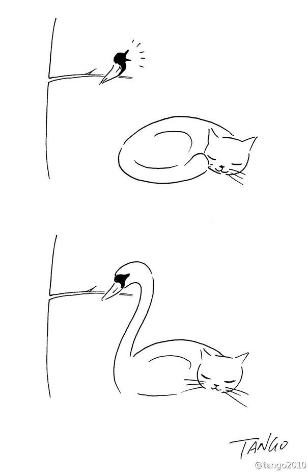 Sencillas Pero Ingeniosas Tiras Cómicas Sobre Animales