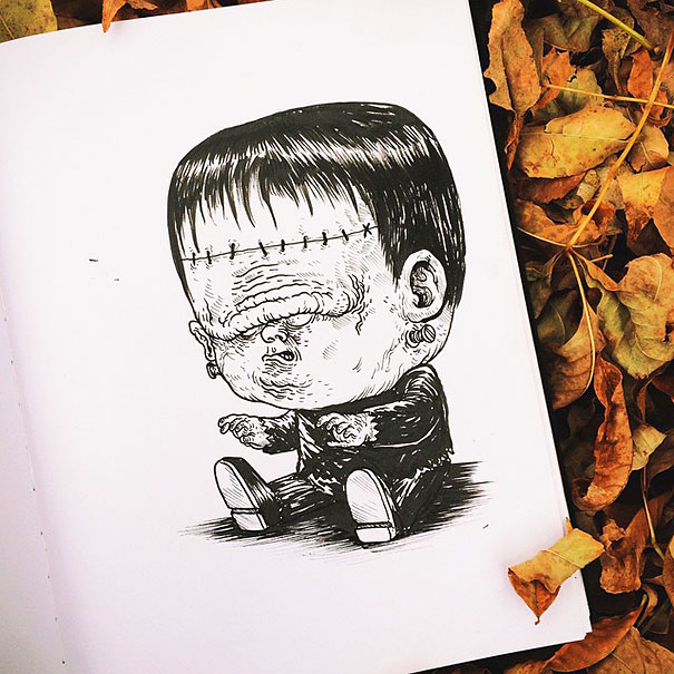 dibujos-bebes-terrorificos-alex-solis-9