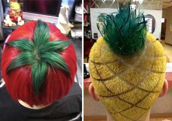 Cortes de cabello extrabagantes