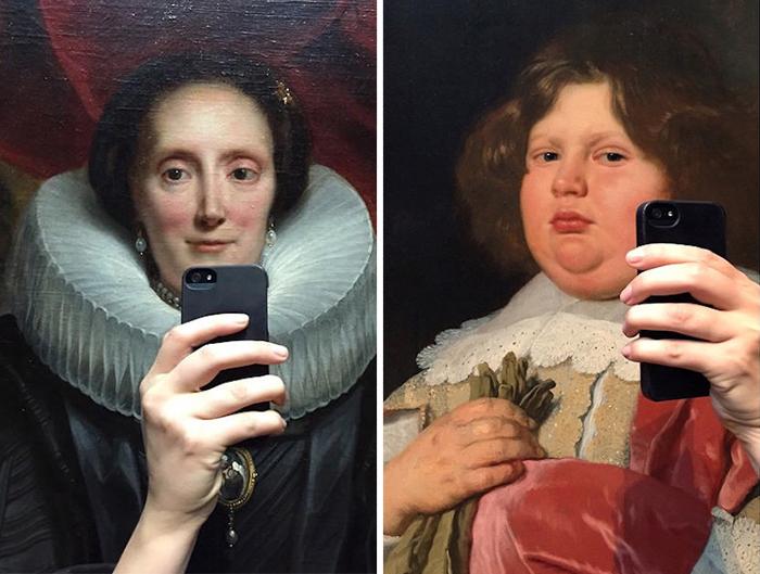 Los Retratos De Los Museos También Se Hacen Selfies