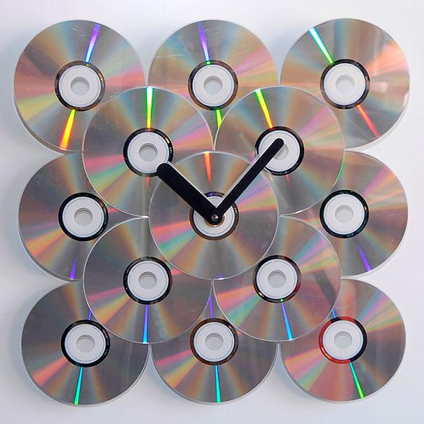 21 Ideas brillantes para reciclar tus viejos cds en casa