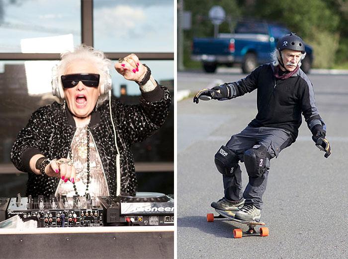 Estas personas de 60 y más años destruyen cualquier estereotipo sobre la edad