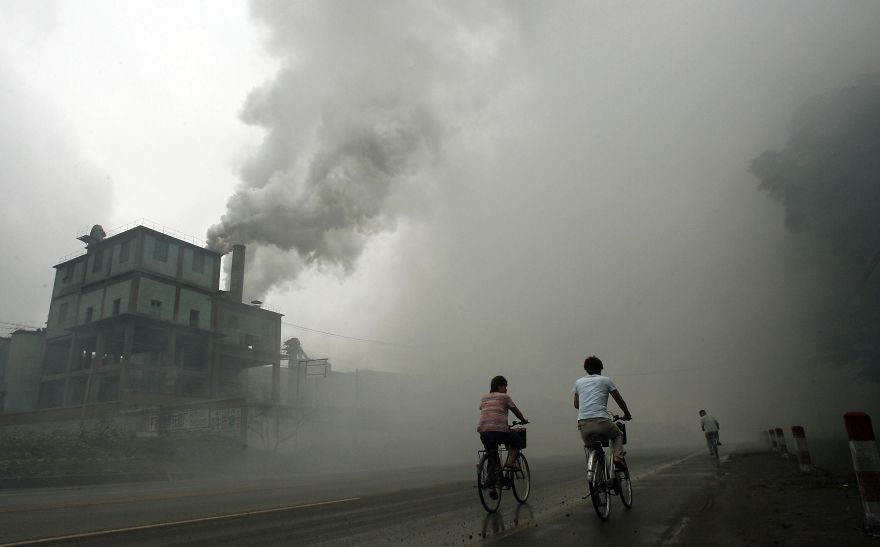 CHINA-UN-CLIMATE-WEATHER-WARMING-FILES