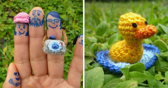 Mis diminutas creaciones de ganchillo