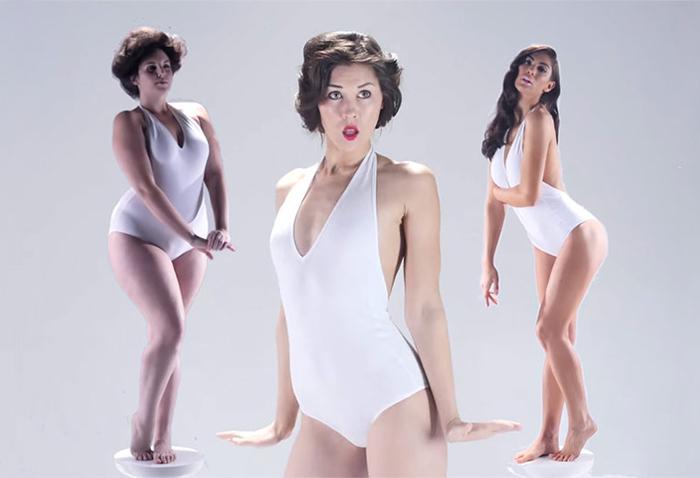3000 Años de estándares de belleza femenina en un vídeo de 3 minutos