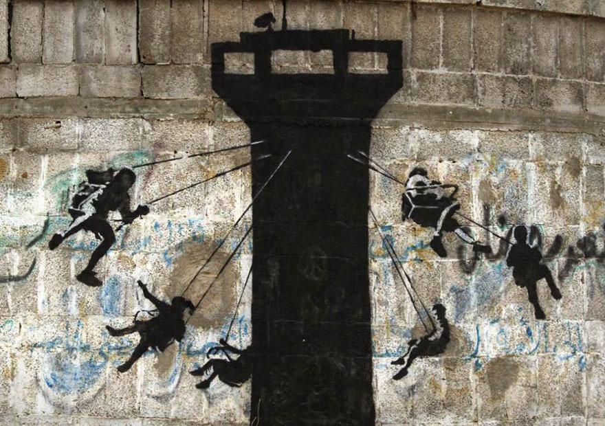 banksy-grafitis-franja-gaza-palestina (2)