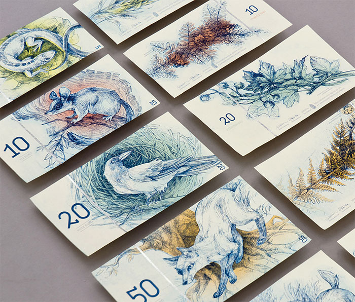 Este sería el aspecto del euro si dependiera de esta estudiante húngara