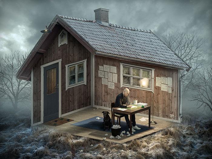Alucinantes ilusiones ópticas creadas por el maestro sueco del Photoshop, Eric Johansson