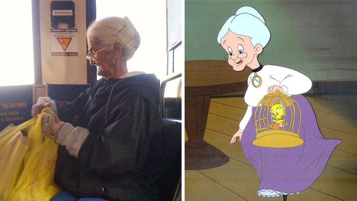 25 Dibujos animados que tienen una copia en la vida real