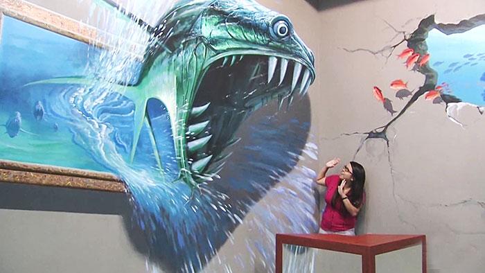 Este museo filipino de arte en 3D te permite ser parte de sus cuadros