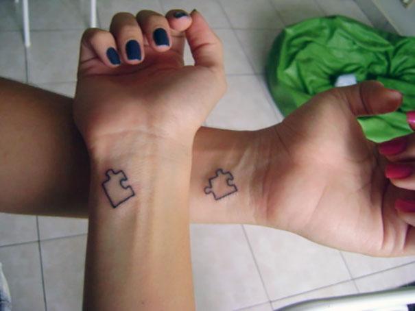25 Tatuajes A Juego Para Parejas Que Quieren Envejecer Juntas