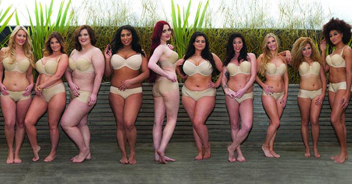 Una compañía de lencería rehace el comercial de Victoria's Secret con más tipos diferentes de cuerpos