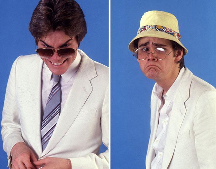 Las frenéticas y certeras imitaciones de famosos de Jim Carrey en 1992 antes de ser famoso