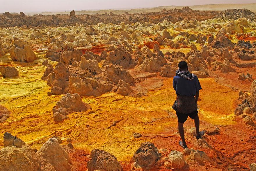 20 Lugares increíbles de la Tierra que parecen de otro planeta