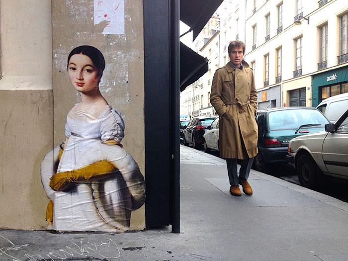 Estas obras olvidadas de arte clásico salen de los museos a las calles