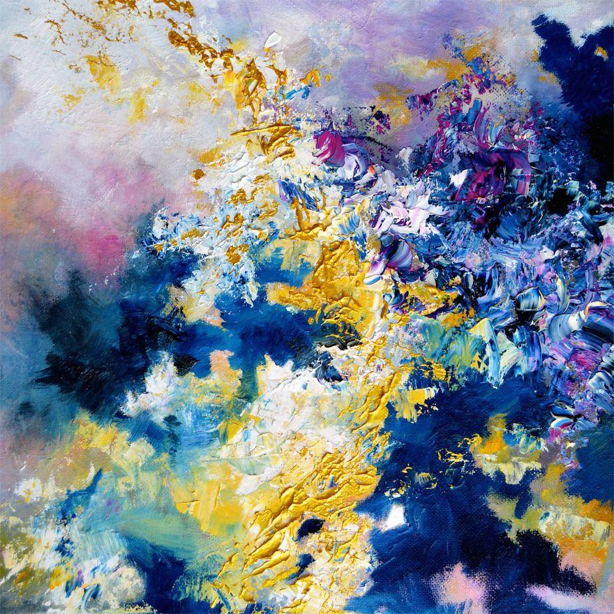 Gracias a la sinestesia puedo ver la música, así que decidí pintar lo que escucho