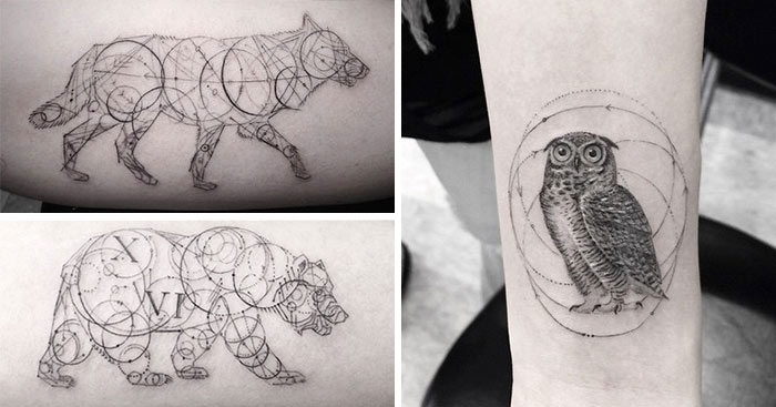 El Doctor Woo Lleva Experimentando Con Sus Tatuajes Geométricos