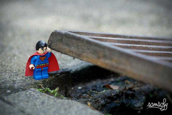 Creo aventuras de LEGO en miniatura en mi tiempo libre