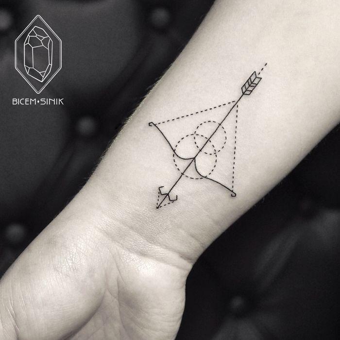 Esta Tatuadora Turca Demuestra Que Menos Es Más Con Tatuajes