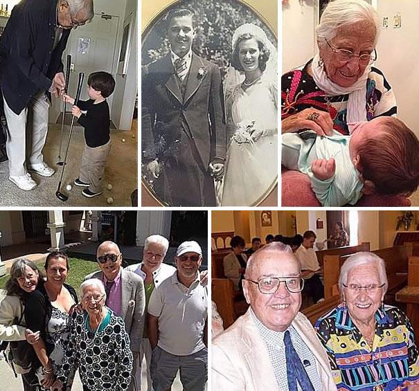 Tras 75 años casados, esta anciana pareja murió abrazada con horas ...