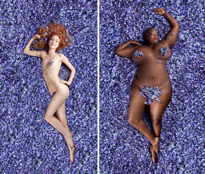 """Esta fotógrafa desafía los estándares de """"Belleza americana"""" con 14 mujeres de todas las formas"""