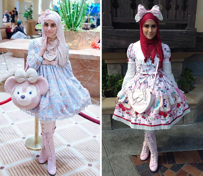 La moda de las lolitas musulmanas es una nueva tendencia inspirada en Japón