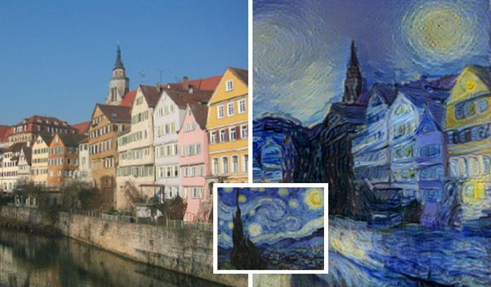 """Un nuevo algoritmo neuronal puede """"pintar"""" fotos al estilo de cualquier pintor"""