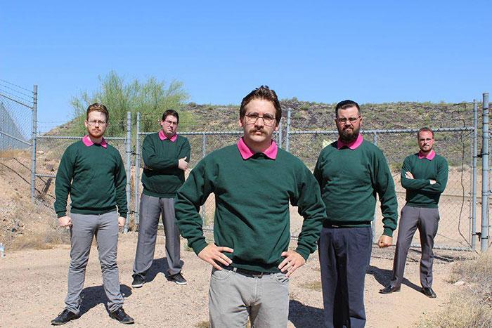 La banda de metal Okilly Dokilly está inspirada en Los Simpsons y compuesta por 5 Ned Flanders