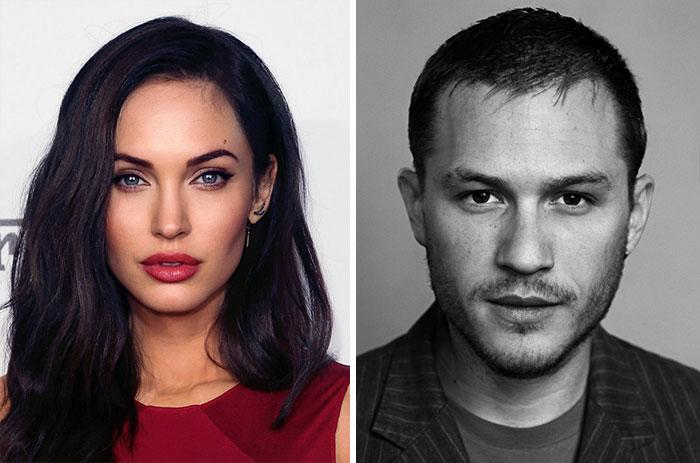 Este artista crea rostros perfectos combinando las fotos de distintos famosos