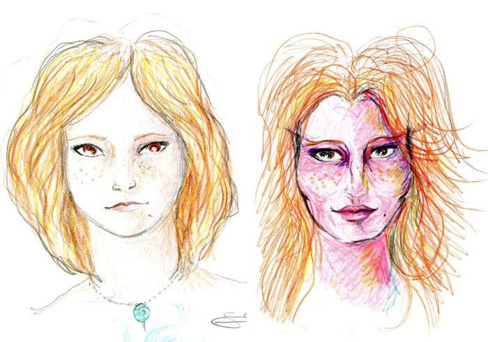 Una artista consumió LSD y dibujó autorretratos durante 9 horas para mostrar cómo afecta al cerebro