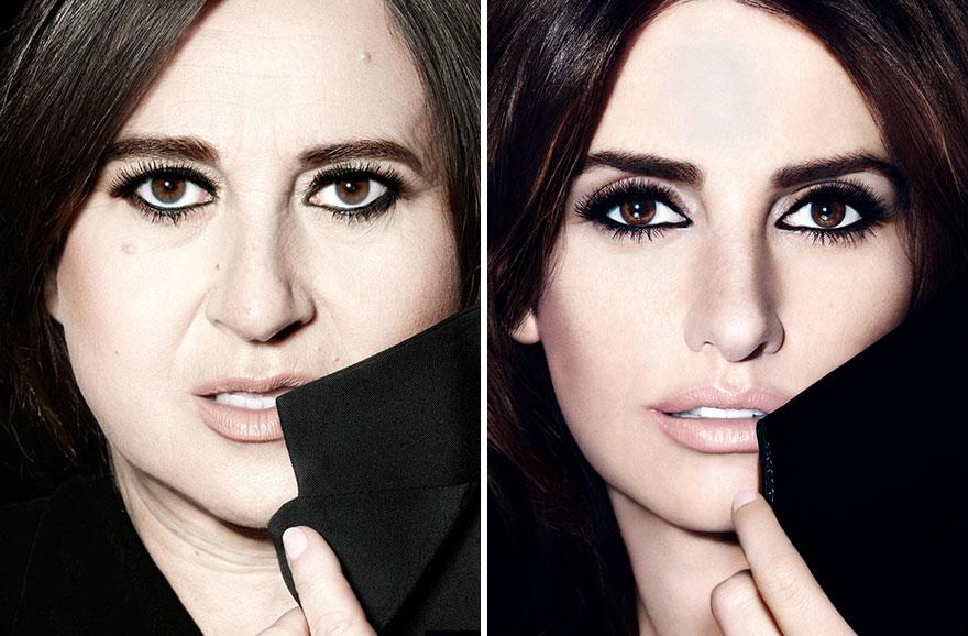 Esta periodista francesa parodia los anuncios de moda mostrando como se vería una mujer normal como modelo